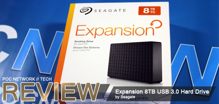 Review: Seagate Expansion 8TB Desktop External USB 3.0 Hard Drive (Model STEB8000100)